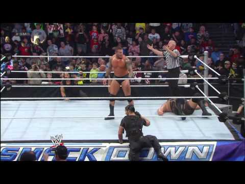Randy Orton Vs. Big Show: Smackdown, March 1, 2013 video