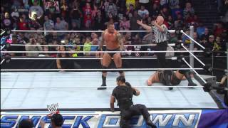 Randy Orton vs. Big Show: SmackDown, March 1, 2013