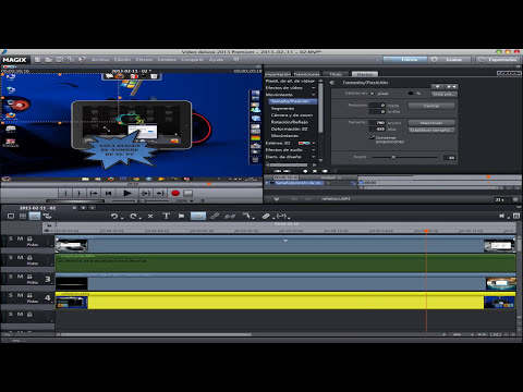 Tutorial: Efecto de Video Magix Video Deluxe 2013