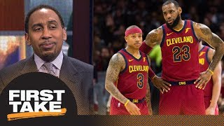 Stephen A. Smith says Isaiah Thomas return proves Warriors should be concerned | First Take | ESPN