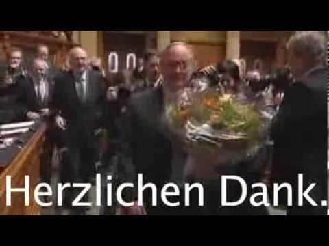 Herzlichen Dank Bundesrat Samuel Schmid - 2008