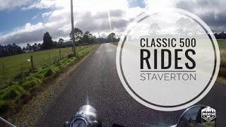 REA Ride #12 | Royal Enfield Classic 500 Ride | Staverton