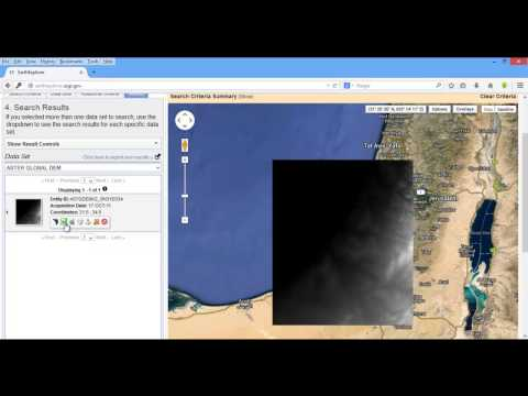 How to download dem data from usgs