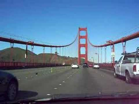 Crossing the Golden Gate Bridge, San Francisco, CA Video