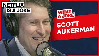 Scott Aukerman & Zach Galifianakis' Obama Interview Experience | What A Joke | Netflix Is A Joke