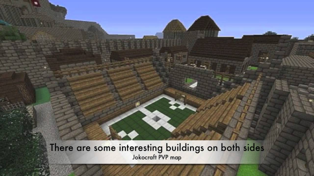 Minecraft 1.4.7 Pvp Map | Fort