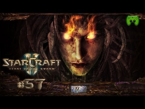 Let's Play Starcraft 2 Heart of the Swarm #057 [Deutsch][FULLHD] - Nah dran