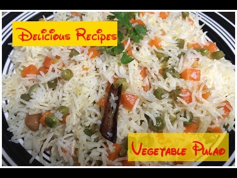 Vegetable Pulao | Quick Kids Lunch box recipe in tamil with English Subtitles