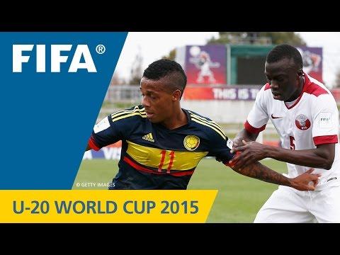 Qatar v. Colombia - Match Highlights FIFA U-20 World Cup New Zealand 2015