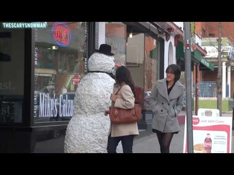 Funny - Funny Scary Snowman Prank - Season 3 Episode 5