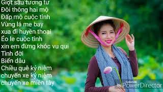 (Liên Khúc) Giọt Sầu Tương Tư... Nhạc Trữ Tình Hay Nhất Tháng 9_2017