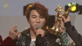 160120 BIGBANG at Golden Disk Awards - Opening + All Awards + Ending