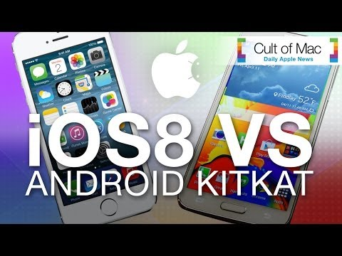 Ios 8 Vs. Android Kitkat video