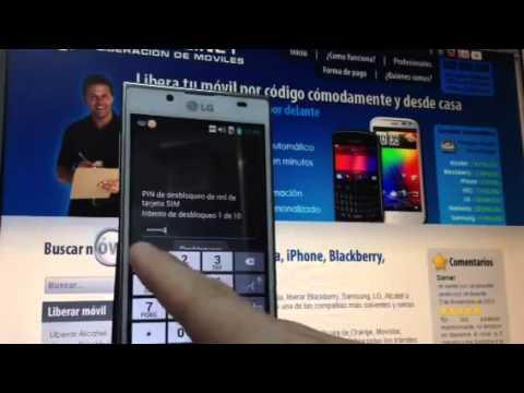 Liberar LG P700 Optimus L7. desbloquear LG P700 Optimus L7 de Orange   Movical Net