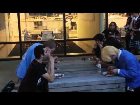 Otakon Hot Wing Eating Contest