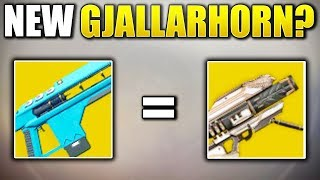 Is this the GJALLARHORN of Destiny 2!? (Destiny 2 INSANE DPS Power Weapon)