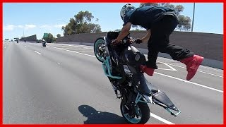 Streetfighterz Ride The Murder Biz Ride 2015 Insane Motorcycle Stunts