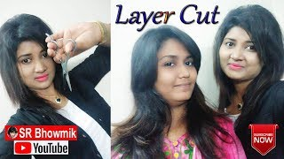 Medium Layer Hair Cut Tutorial By Shilpi Bhowmik