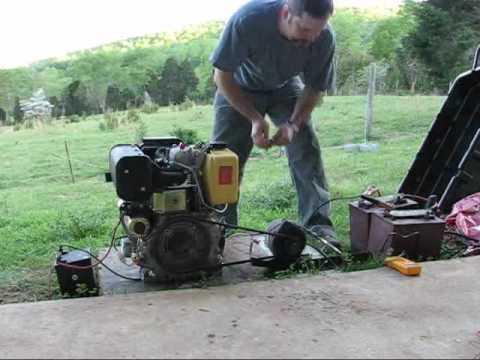 Homebrew Diesel DC Generator