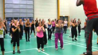 Zumba Master class (France Club 42)  Martin Mitchel
