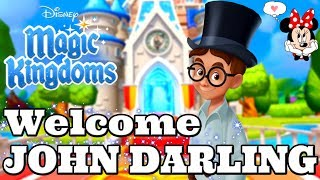Disney Girl LIVESTREAM! WELCOME JOHN DARLING! TOWER CHALLENGE #7! Lion King Disney Magic Kingdoms