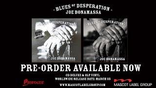 Joe Bonamassa - 新譜「Blues Of Desperation」2016年3月25日発売予定 Album Trailer映像を公開 thm Music info Clip