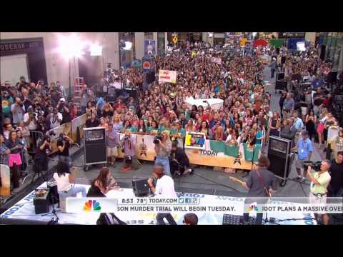 Jason Mraz & Christina Perri - Distance (today Show) video