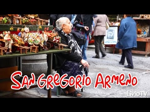 Napoli - La magia del Natale a San Gregorio Armeno