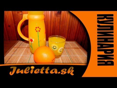 Как сделать 1 литр сок с одного апельсина