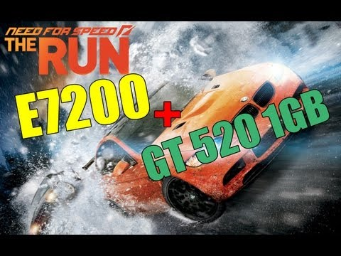 Audi R8 Nfs The Run , Core 2 Duo + Gt 520
