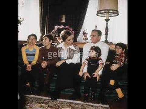 HIM Mohamad Reza Shah Pahlavi With His Family