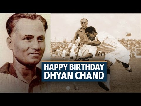 Dhyan Chand: Wrestling's loss was hockey's gain | Video