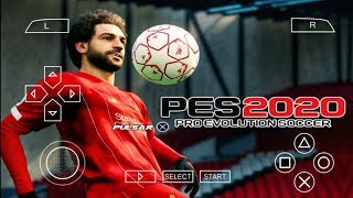 PES 2020 PPSSPP Camera PS4 Android Offline 600MB Best Graphics New Kits 2020 & Transfers Update