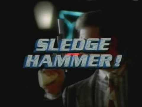 1986 - Sledge Hammer - David Rasche - TV Series - US Trailer - Teaser - English
