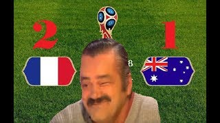 Risitas nous raconte France-Australie (2-1)