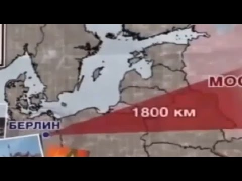 Russian TV Prepares Russians For Invasion Into Europe. (English)