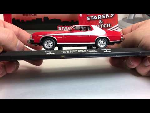 Greenlight Hollywood Starsky and Hutch 1:43 Ford Gran Torino Review!