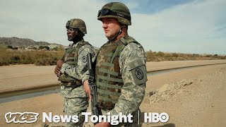 Trump's Troop Surge On The Mexican Border Is Unprecedented (HBO)