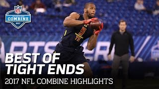 Best of the Tight Ends | 2017 NFL Combine Highlights