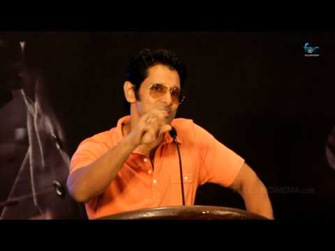 Press Meet: Thaandavam Vikram Speech (Part 2/2)