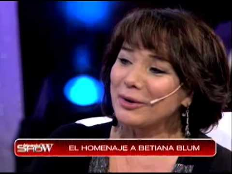 Homenaje a Betiana Blum