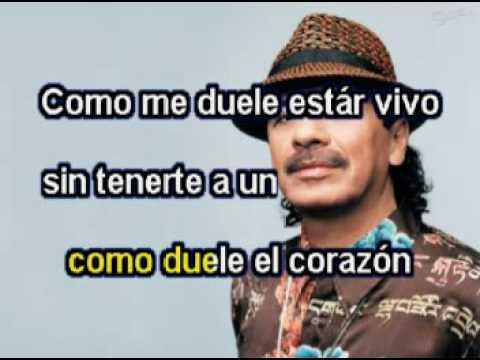 Carlos Santana   Corazon Espinado