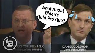 Rep. Collins Makes Dem Counsel Sweat, Exposes Biden's Quid Pro Quo