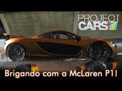 Turbo Mclaren p1 Brigando Com a Mclaren p1