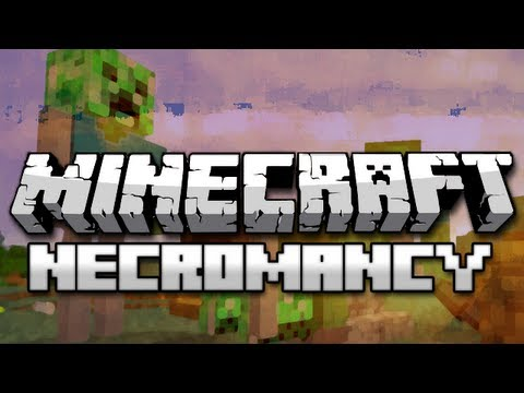 Minecraft Mods: Necromancy Mod Showcase