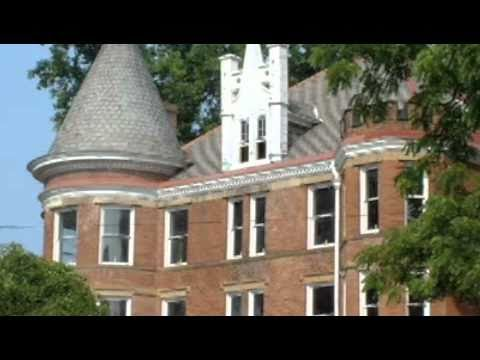 The Castle, 1209 Ann Street,  Julia-ann Square Historic District, Parkersburg Wv video