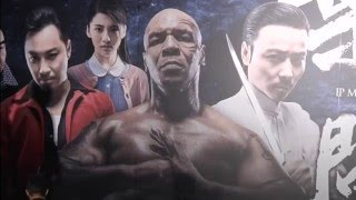 Donnie Yen praises Mike Tyson in new kung fu movie.