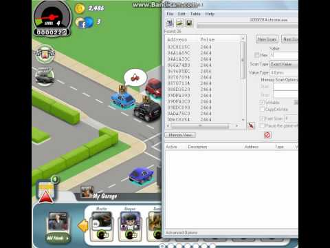Car Town Hack Cheat Engine 5.6.1 2012.flv