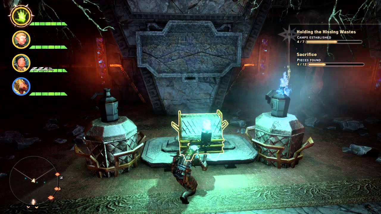 Dragon age inquisition hissing waste tomb 2 youtube