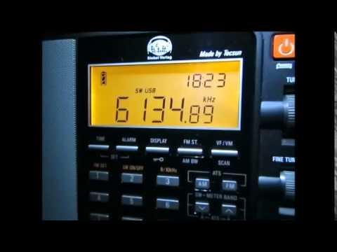 6135 khz, Radio Yemen and North Korean jamming